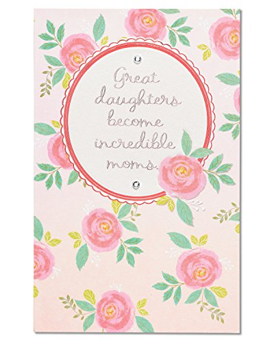 American Greetings Great Mom Mother's Day Card For Daughter With Rhinestones (5875730)