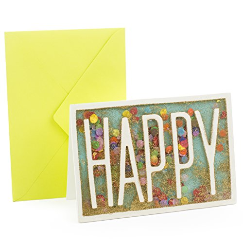 Hallmark Signature Celebration Greeting Card (Happy Confetti)