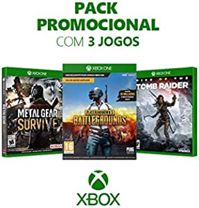Box Games - Metal Gear Survive + Playerunknown's Battlegrounds + Rise Of The Tomb Raider - Xbox One