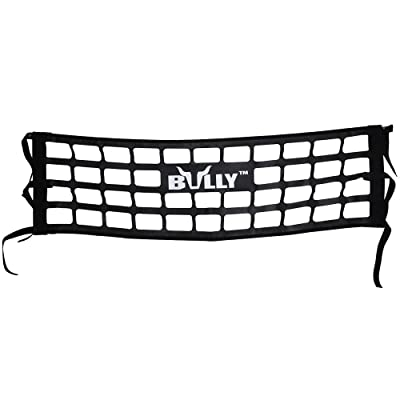 Bully TR-02WK Heavy Duty Cargo Tailgate Net for Mid Size Pickup Truck Cab Truck Bed - Black Pack of 1: Automotive