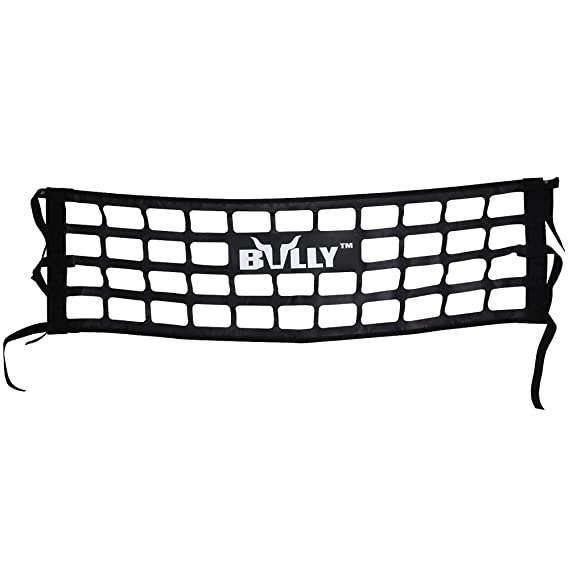 Bully TR-02WK Heavy Duty Cargo Tailgate Net for Mid Size Pickup Truck Cab Truck Bed - Black Pack of 1