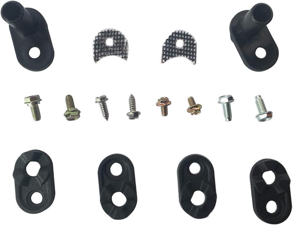 LONYE 4318165 Door Closer Cam Kit Replacement for Whirlpool Kenmore KitchenAid Refrigerator AP3103517 PS358690