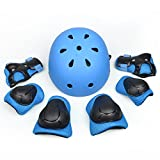 Homcasito Blue Children's Bicycle Protective Bike Gear Outdoor Games Baseball Protective Gear Comfortable Wear