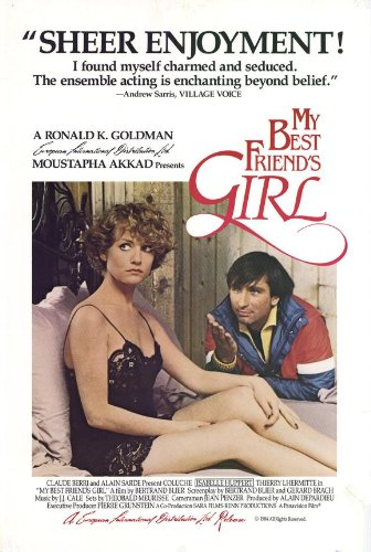 My Best Friend's Girl Movie Poster (27 x 40 Inches - 69cm x 102cm) (1985) -(Isabelle Huppert)(Thierry Lhermitte)(Coluche)(Francois Perrot)