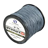 FYSHFLYER STURDY 4X-PE Braided Fishing Line – 300M(330 Yard) Premium Quality; Super Power; Cut Resistant – Grey Line Review