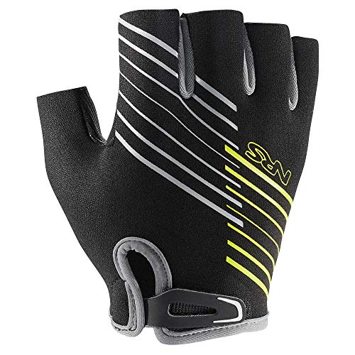 NRS Half-Finger Guide Gloves (Black, Large) (Best Ski Gloves 2019)