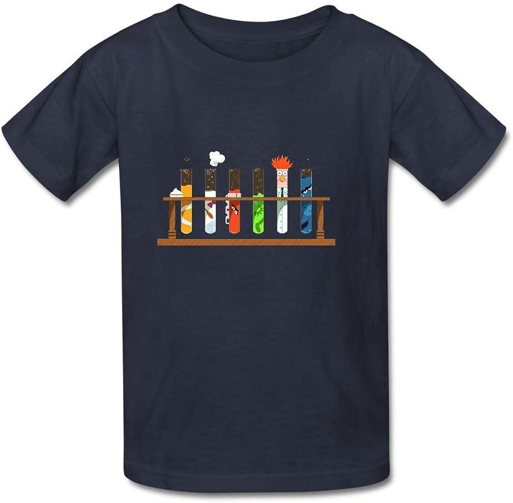 Bart Perkin Boys Girls Kids Muppet Science O-Neck Tshirt