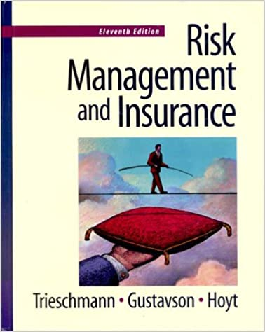 Book Risk Management and Insurance