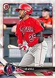 2018 Bowman Prospects #BP136 Jo Adell Los Angeles Angels Baseball Card