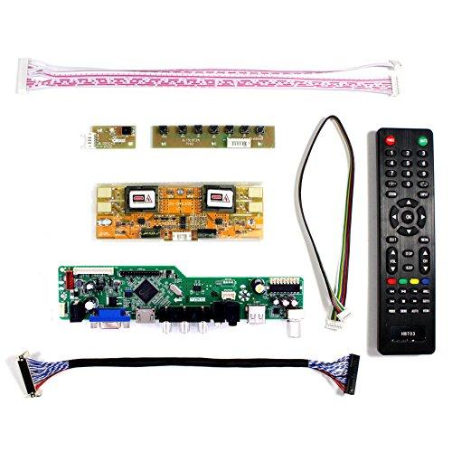VSDISPLAY HDMI+VGA+CVBS+USB+RF+Audio LCD Motor Driver Board Controller Kit Work For 17'' 19'' LTM170EU LM190E02 1280X1024 4CCFL 30Pin LCD Panel by VSDISPLAY (Image #1)