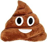 LinTimes Oi Emoji/Smiley/Emoticon Poop Face Stuffed Plush Toy Doll Cushion Pillow