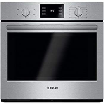 """Bosch HBL5351UC 500 30"""" Stainless Steel Electric Single Wall Oven"""