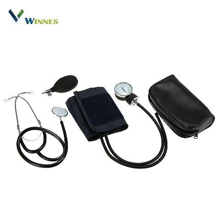 Estetoscopio Médico Monitor de Presión Arterial Brazo Monitor de Presión Arterial Certificado CE Doble Tubo Estetoscopio