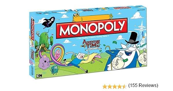 Monopoly: Adventure Time Collectors Edition: Amazon.es: USAopoly: Libros en idiomas extranjeros