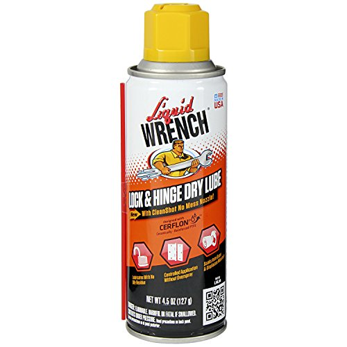 Liquid Wrench LHL04/6 Lock and Hinge Lube - 4.5 oz.