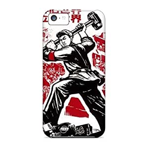 KellyLast Iphone 5c Protector Hard Cell-phone Case Custom Trendy Muse Pictures [YmB15691eXKi]