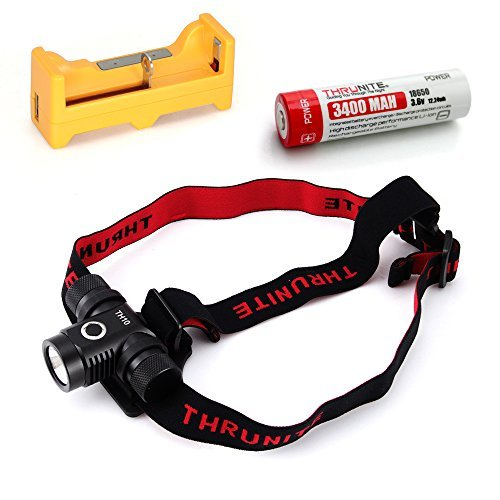 ThruNite TH10 Headlamp Flashlight 750 Lumen Single CREE XM-L2 U2 LED (TH10 XM-L2 NW + U1 ()