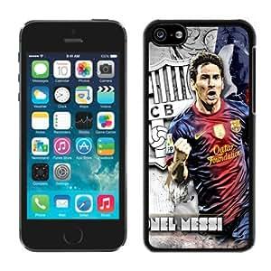 Unique Lionel Messi 6 iPhone 5c Generation Black Case