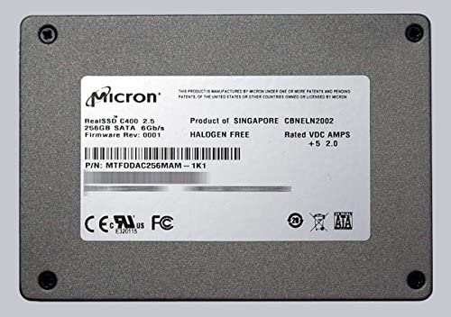 MICRON/Crucia 702865 – 001 – disco duro (SSD) de 2,5 SATA III 256 ...