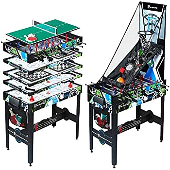 Amazon Com Md Sports 48 Inch 12 In 1 Combo Multi Game