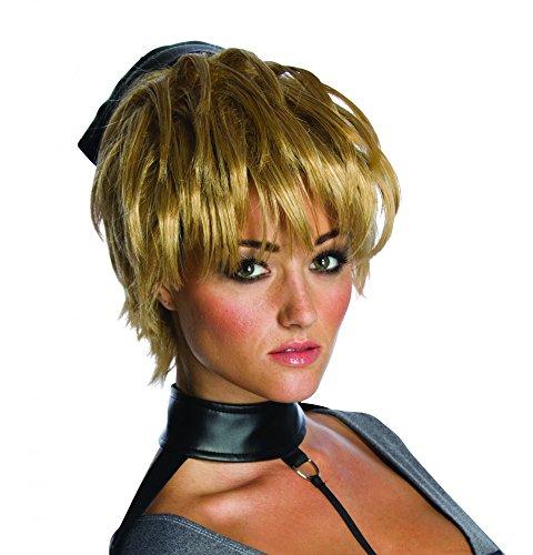 Rubies Short Dirty Blonde Sucker Punch Rocket Halloween Costume Wig Adult -