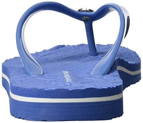 Tommy Hilfiger Damen M1285ellie 8r Zehentrenner Blau (riviera 415)