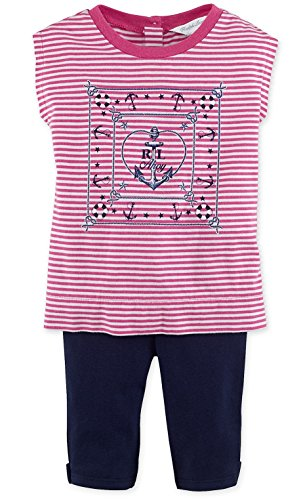 Ralph Lauren Baby Girls Nautical Top & Legging Set (12 MONTHS)