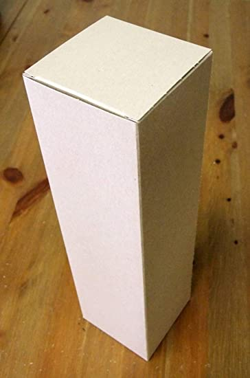 12 Wine Gift Boxes Kraft 3 5 X 3 5 X 13 5 With Gift Tag