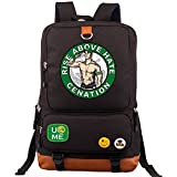 AUGYUESS WWE Cosplay School Bag Daypack Shoulder Bag Bookbag Backpack (2)