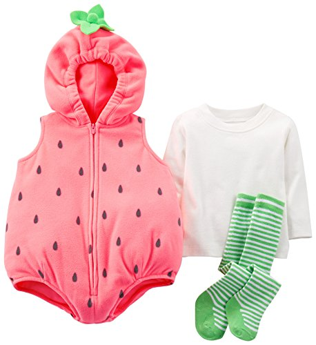 Strawberry Halloween Costumes Toddler - Carter's Baby Girls' Halloween Costume (Baby) - Strawberry - 18 Months