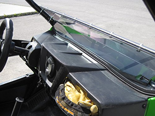 Arctic Cat Wildcat (Trail/Sport Only) 12'' Tall Half WindshieldTallest on the market (we make shorter upon request let us know at time of order). Made in America by UTV Windshields and Accessories (Image #7)