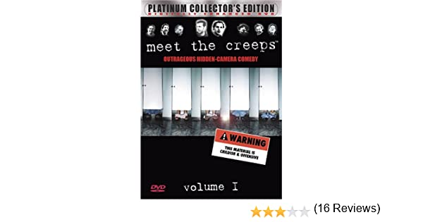 Amazon.com: Meet The Creeps, Vol. 1: Outrageous Hidden-Camera ...