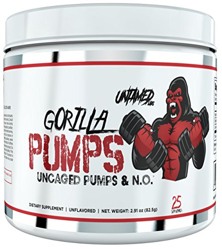 Gorilla Pumps by Untamed Labs - Unflavored by Primeval Labs