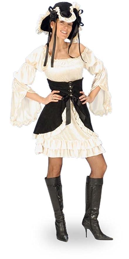 Disfraz de pirata sexy para mujer - vestido con corsé y ...