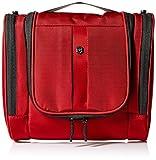 Victorinox Hanging Toiletry Kit, Red/Black Logo