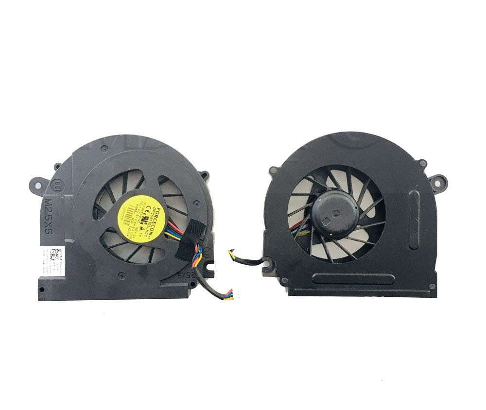 Laptop CPU Cooling Fan for DELL Studio 15 1555 1557 1558 PP39L 3YFM8FAWI20 DFS541305LH0T F8J1 0W956J W956J DC5V 0.5A New and Original