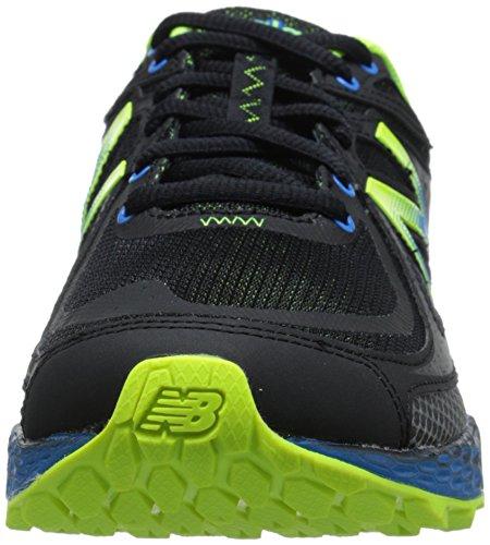New BalanceMTHIER D - Zapatillas de Running para Asfalto Hombre Negro - Schwarz (B BLACK/YELLOW)