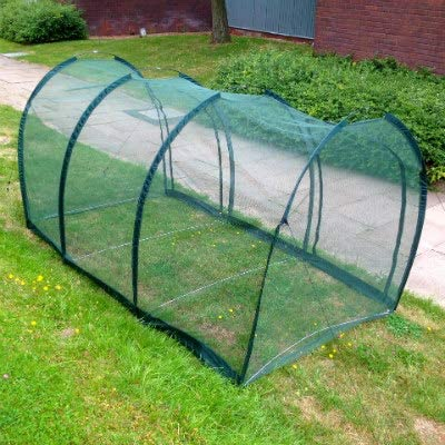 Chicken Run /& Hen House Tunnel Bird Flu Protection Coop /& Pet Cage for Poultry Rabbits Tortoises Guinea-Pigs 3 x 1.5 x 1.5m H