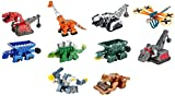 #7: Dinotrux Diecast (10 Pack) Ty Rux, Scoot, Garby, Skya, Dragonflopter, Ton-Ton, Pounder, Rollodon, Claw Tail D-Structs, Battle Armor Ty Rux