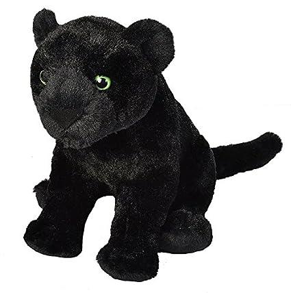 Amazon Com Wild Republic Black Jaguar Plush Stuffed Animal Plush