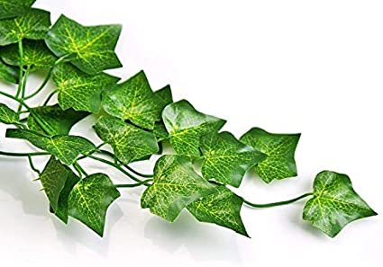 12 Pack-03 RECUTMS 84 FT Artificial Ivy Fake Greenery Leaf Garland Plants Vine Foliage Flowers Hanging for Wedding Party Garden Home Kitchen Office Wall Decoration