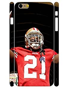 3D Print Custom Brave Football Player Tough Iphone 6 Plus 5.5 Inch Phone Snap On Case hjbrhga1544