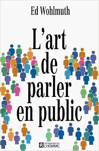 L'art de parler en public pdf