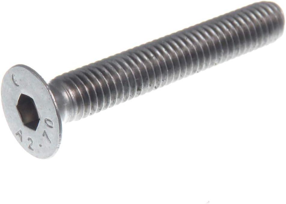 5 x 8 tête cylindrique vis DIN 7991 senkkopf a2 25 pcs m2