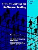 Effective Methods for Software Testing