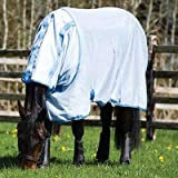 Amigo Bug Rug Horse Fly Sheet (81) Baby Blue