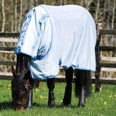 Amigo Bug Rug Horse Fly Sheet (81) Baby Blue by Amigo