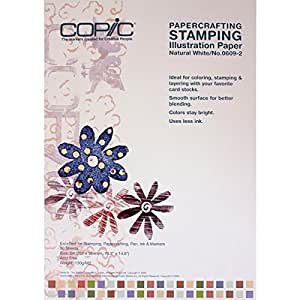 Copic Markers Stamping Illustration Paper, B4
