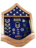 E-7 Air Force Master Sergeant (MSgt) Shadow Box/Retirement Display