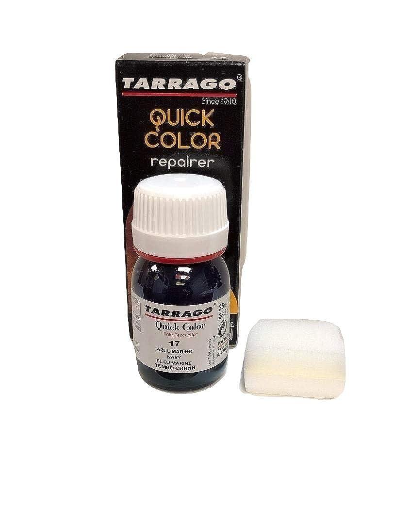 Tarrago Quick Color Dye - Tinte Reparador Cuero, 25 mililitros, Verde Oscuro-33